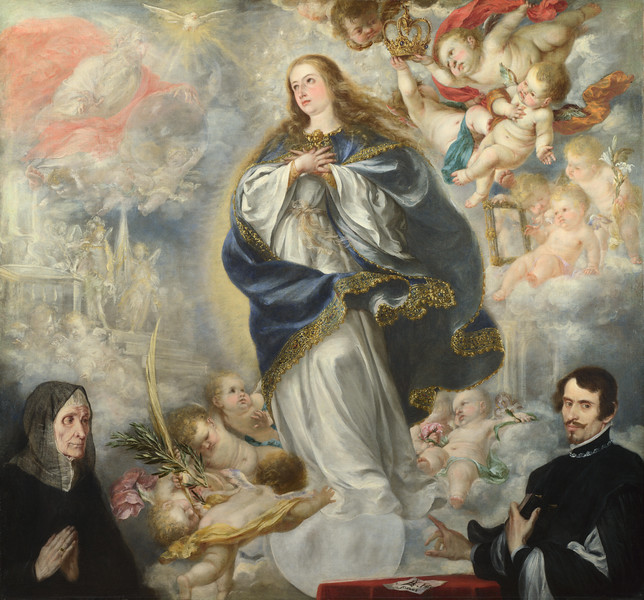 The Immaculate Conception with Two Donors