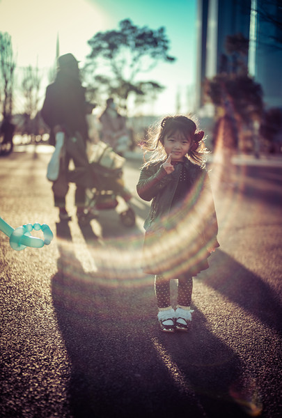 Little Girl In Tokyo