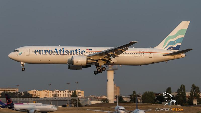 EuroAtlantique / Boeing B767-36N(ER) / CS-TKR