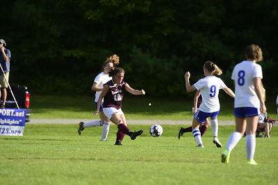 Spaulding U-32 girls soccer
