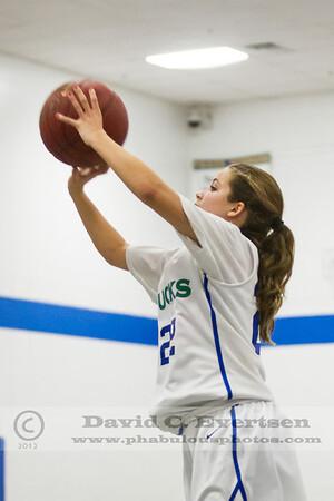 Orlando Christian Prep @ Cornerstone Charter Academy Ducks Girls Varsity Basketball - 2013