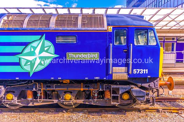 Class 57 Diesel Locomotives