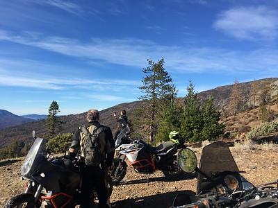 Mendocino Forest ADV snow ride