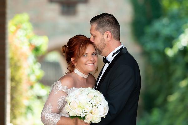 Edit és Péter esküvője