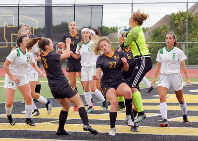 TJ 2018 Soccer Girls Varsity vs S Fayette