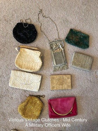 Clutches Mid Century