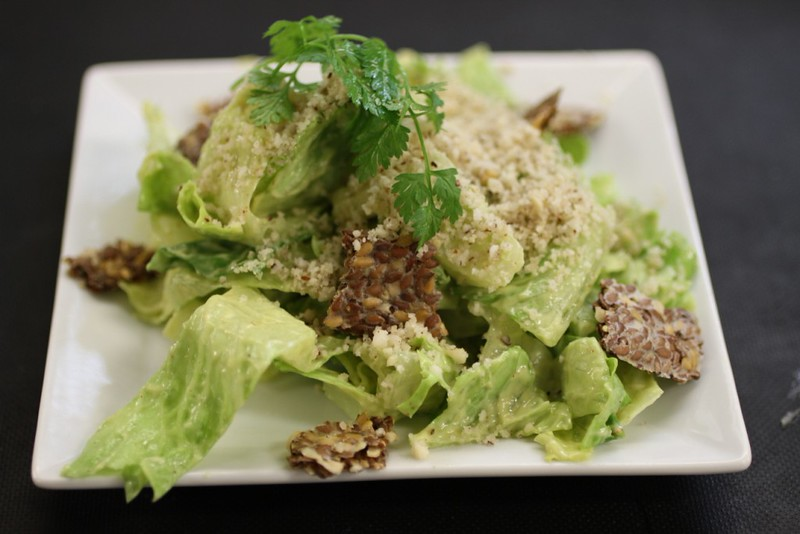 Ceasar Salad with Avocado Dressing.JPG
