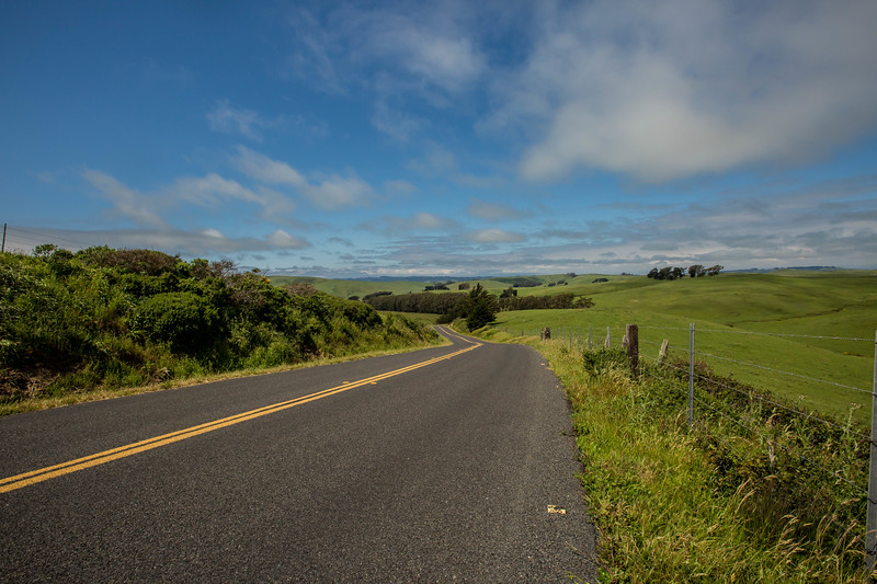 Road to Dillon Beach