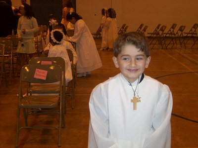 Mark First Communion