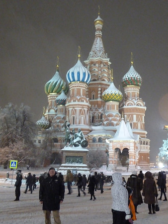 Moscow, New Years 2011