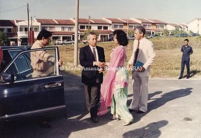1993 - MAJLIS PERASMIAN AKADEMI BAHASA MARA DAN MAJLIS PENYAMPAIAN SIJIL