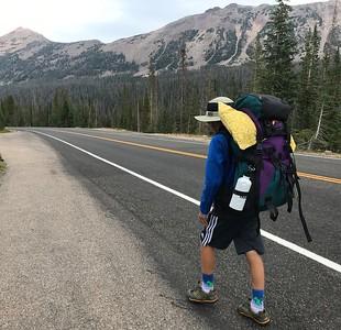 Cutthroat Lake backpack 2018