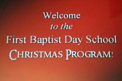 FBDS Christmas Program (15 Dec 2005)