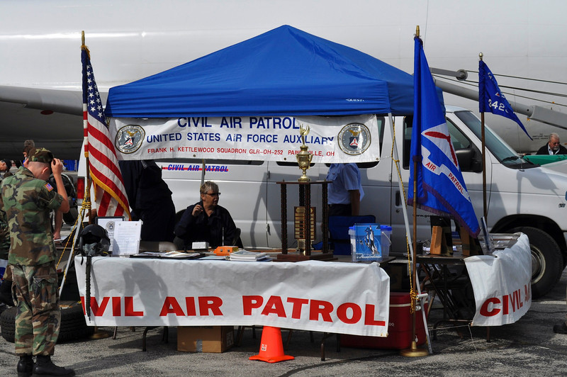 Didn't realize that the Civil Air Patrol was still in existence.  Remember being in it in grade school.