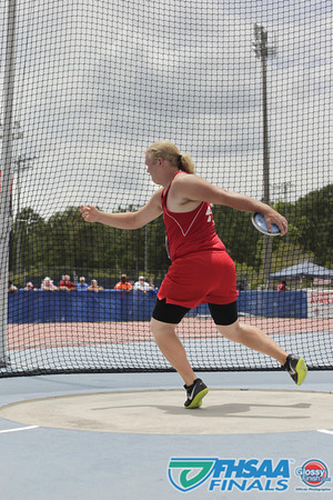 Class 3A - Field Events - Boys Discus Prelims and Finals