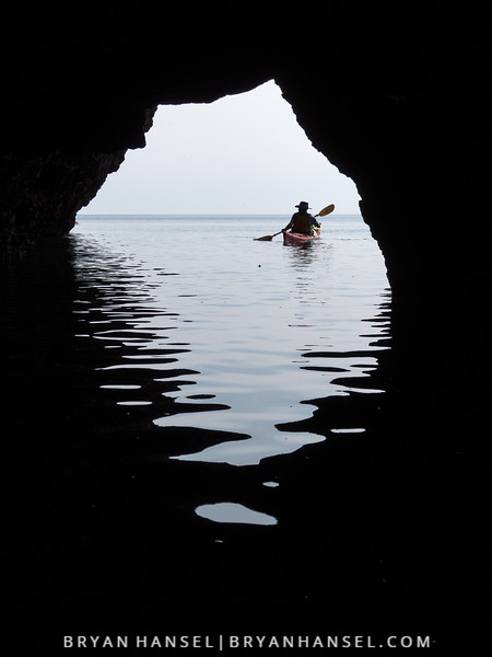 Kayak and Sea Cave