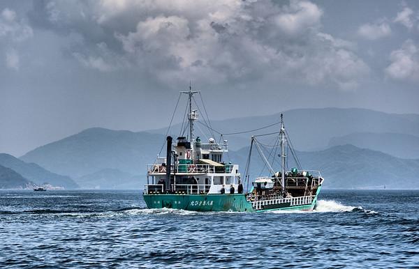 Japan 2010 Seto Inland See Ships