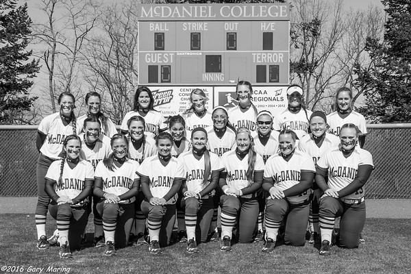 McDaniel Softball 2015-16