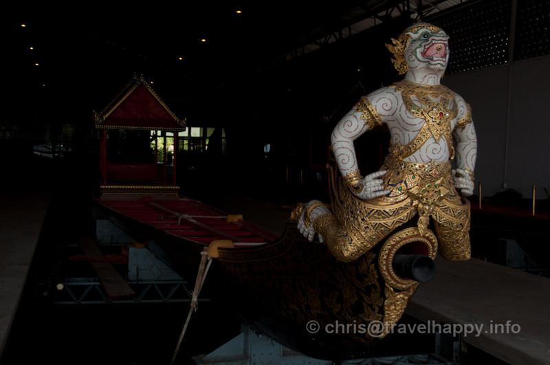 Hanuman, Krabi Class Barge, Royal Barges Museum, Bangkok