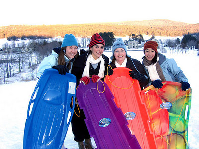 Sledding & Winter Fun!