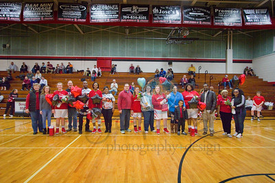 South Rowan Senior Night - 2-13-19