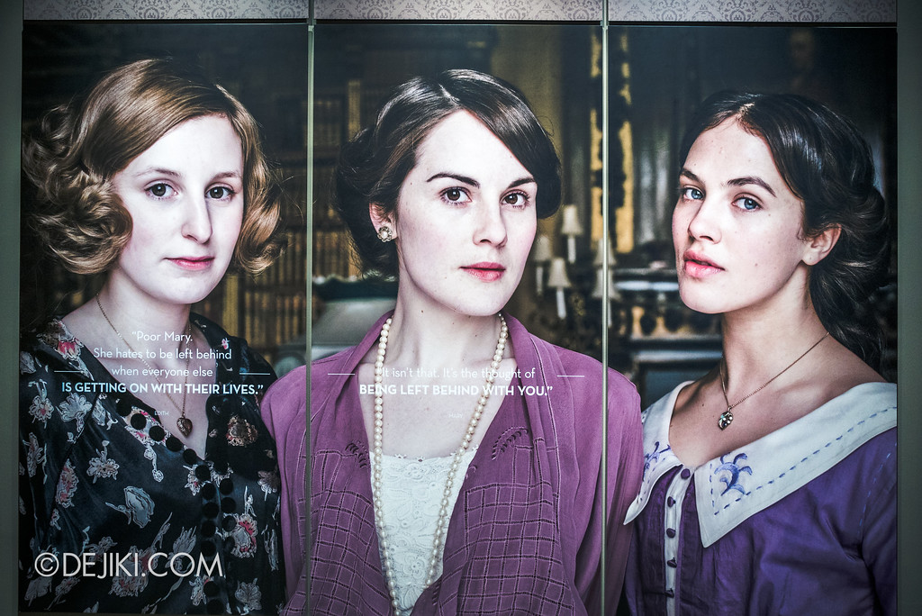 Downton Abbey The Exhibition - Sisters