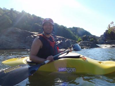 Kayaking with Sandy
