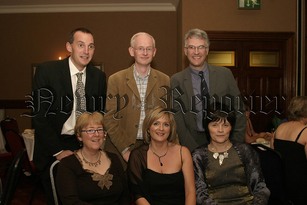 BACK L-R John Harty, Mark Murphy , Maurice Maguire, front l-r Marie Lambe, B Harty and Maire O Donnell, 06W43N84