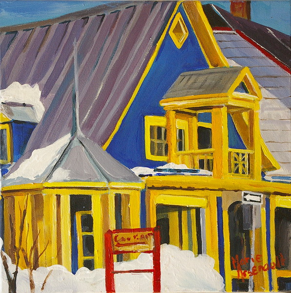 Bay Saint Paul Quebec #2   SOLD