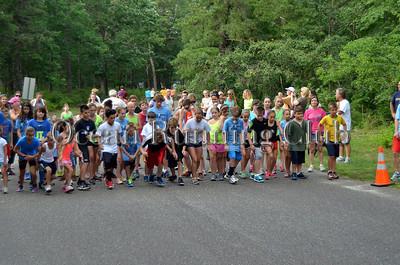 Week 2 Kiddie Dash and One Mile Run