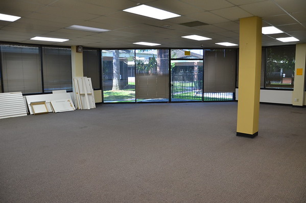 April 26 - Bldg 1 ready for remodeling