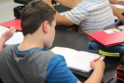 Seventh-grade science at Pound Middle School