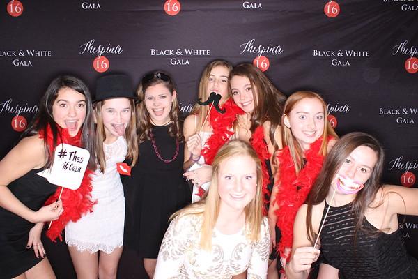1.15.2017 - Thespina's Sweet 16 Black & White Gala
