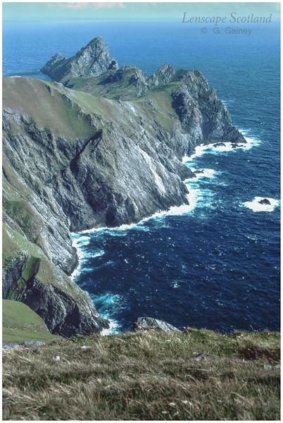 Dun and Ruaival from Claigeann Mor