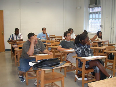 2002 Bridge Students in class