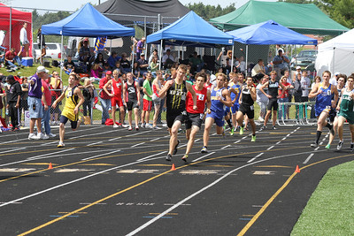 Boy's 800 Meter - 2012 MHSAA LP D3 T&F