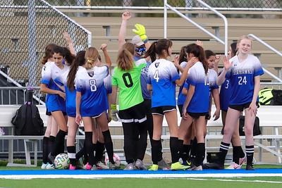 1.11.21 CSN Girls MS Soccer vs St. Francis