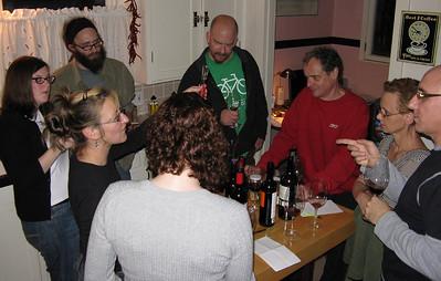 Wine Group Dinner 2008/01/12