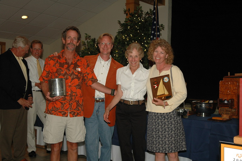 Mary Douglass Trophy - Best Family sailed boat with at least one lady on board: 79/4925 Jeff Linton/Amy Linton