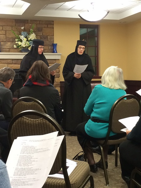 Community Life - Mother Christophora Presentation - December 17, 2014
