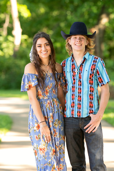 Melina and Cutter Senior 2020 Session