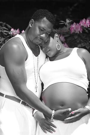 Stacy & Ben Maternity Shoot in the Garden