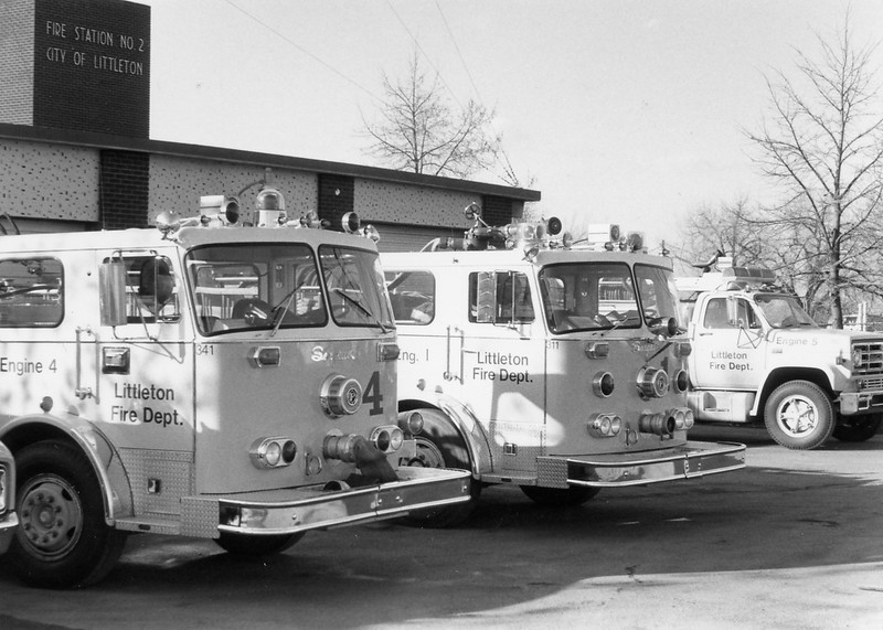 Engine 4, Engine 1 and Engine 5 at Station 2