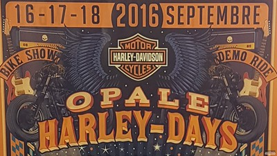 Opale Harley-Days, 16-18 Sep 2016