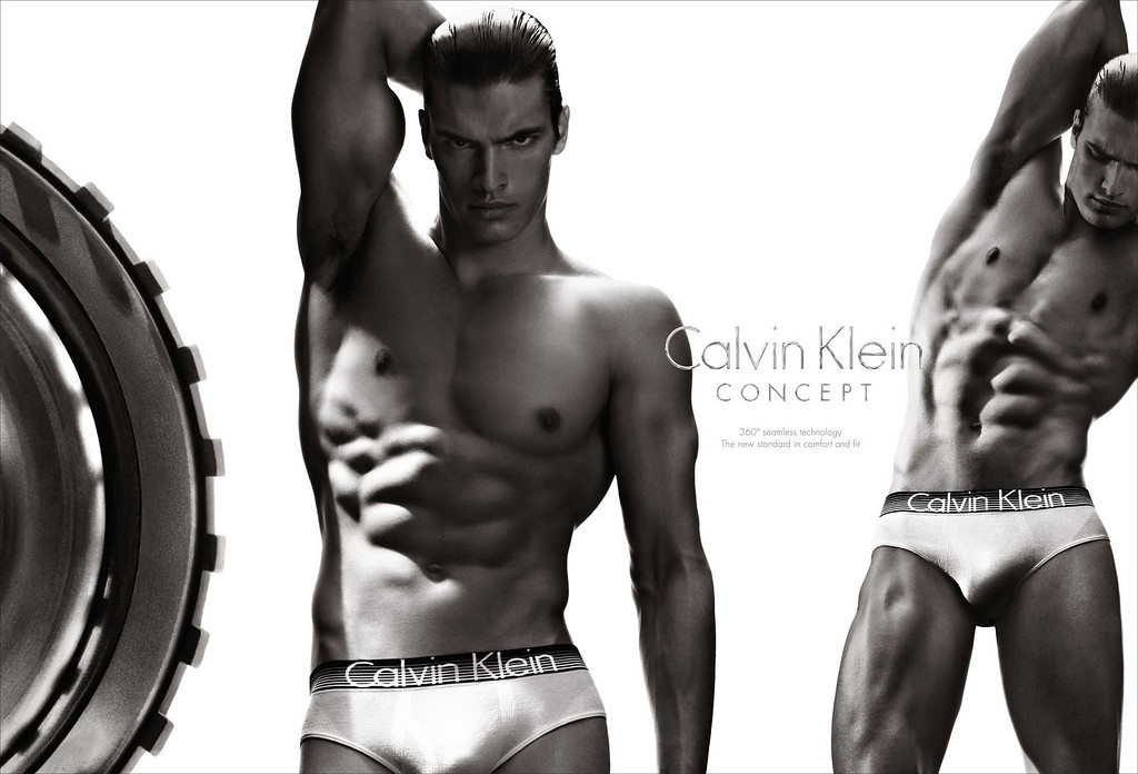 . This  screenshot provided by Calvin Klein shows the company\'s Super Bowl advertisement for the company\'s Concept brand. (AP Photo/Calvin Klein)