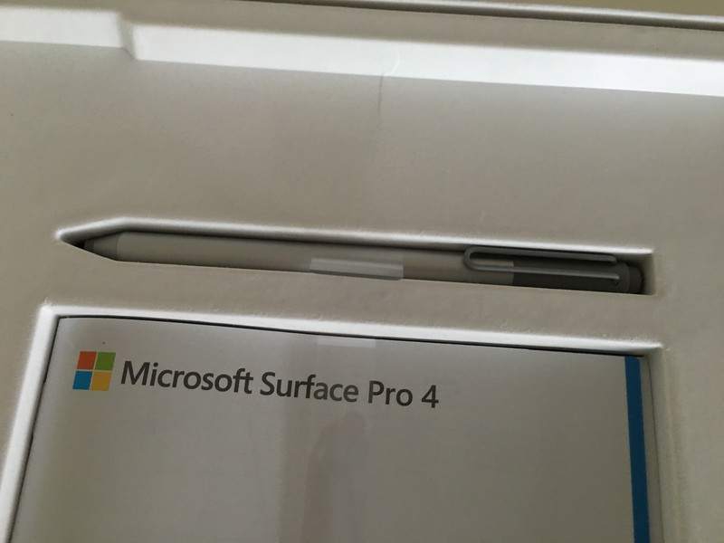 Microsoft Surface Pro 4 with the Pen