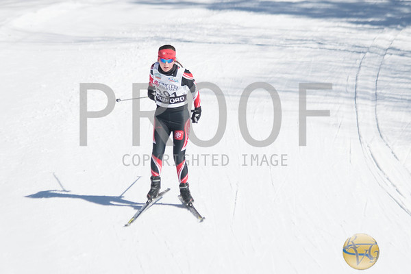 Women's 5K Nordic Freestyle Pursuit