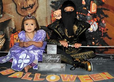 Kaitlyn & Isaac Halloween 2015