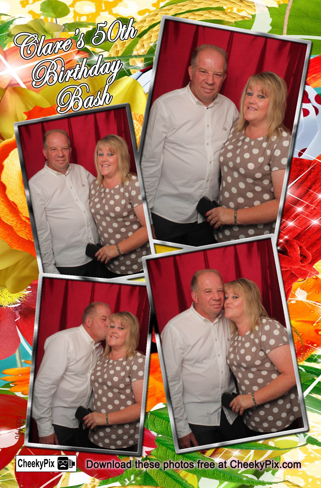 Birthday photobooth hire