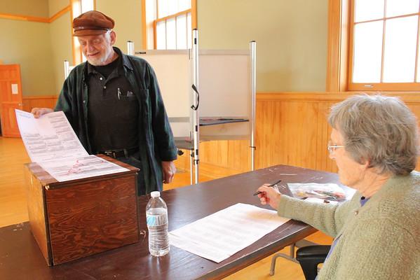 Barnard Voting, 2014